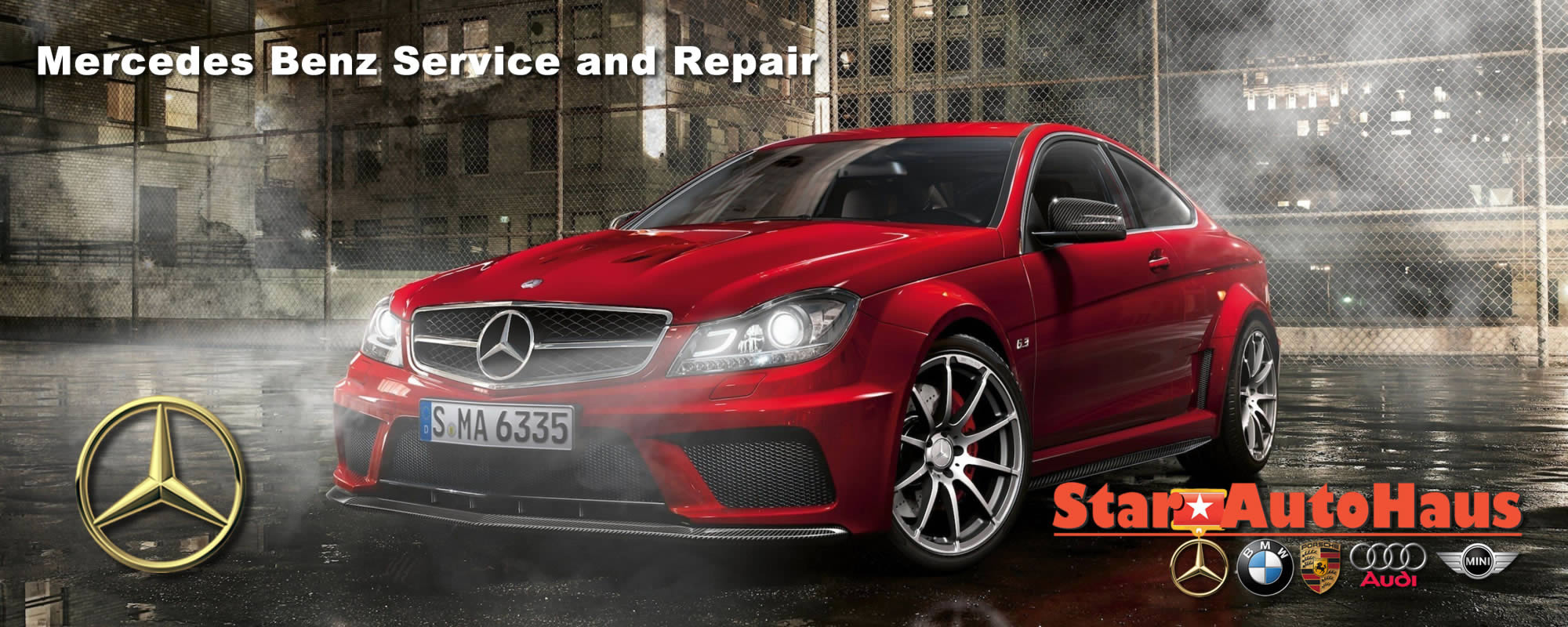 Mercedes Benz Service and Repair